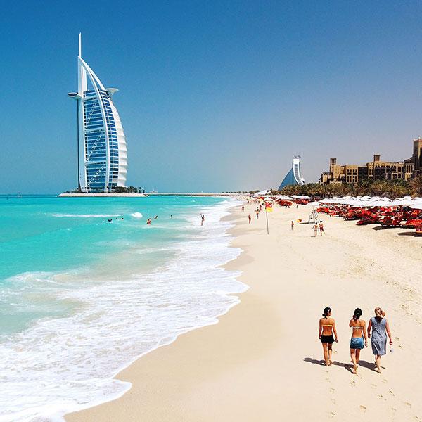 Водоросли на пляжах в ОАЭ