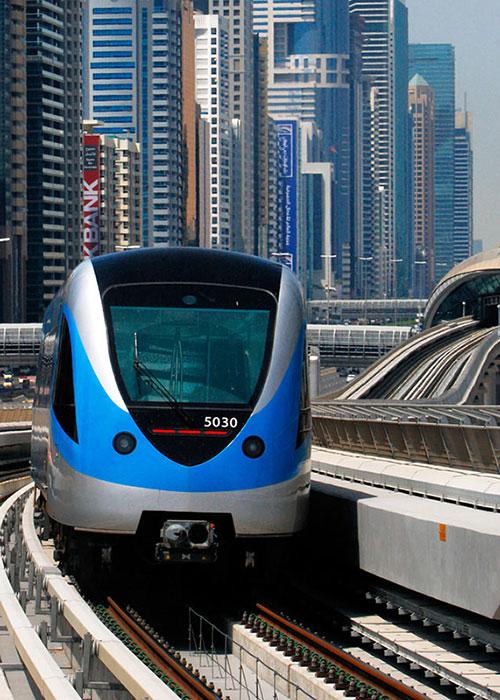 Метро в Дубаи, как им пользоваться