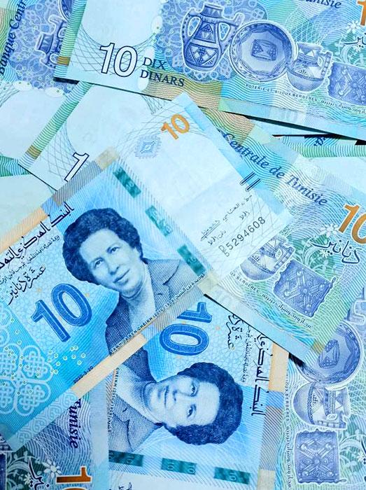 Какая валюта в Тунисе, какой курс динара к доллару и евро?
