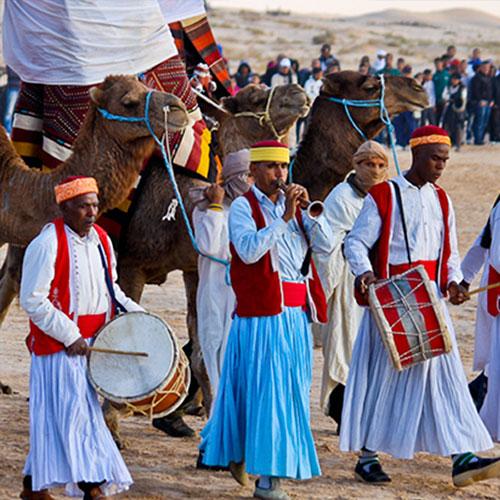 Сезон фестивалей в Тунисе