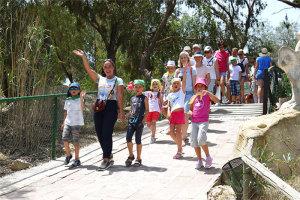 Семейная экскурсия в зоопарк Фригия, Тунис