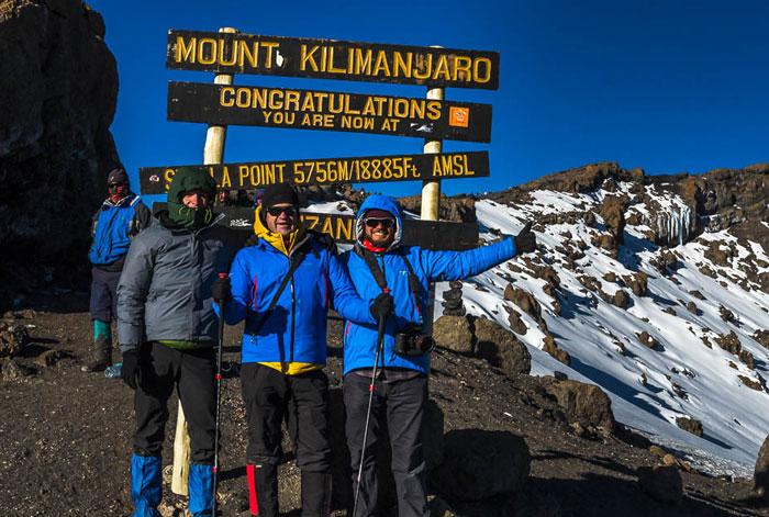Альпинизм в Танзании, восхождение на Килиманджаро