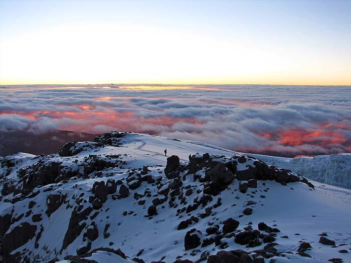 Какая температура на восхождении на Килиманджаро
