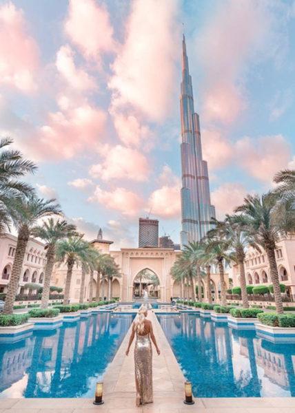 Дубаи, столица шопинга, Dubai Mall и небоскребы, ОАЭ