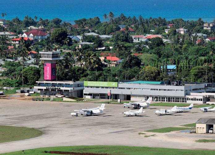 Аэропорт острова Занзибар Танзания