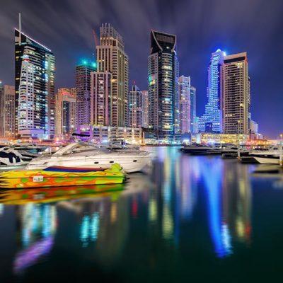 Экскурсии по ночному Дубаи, ОАЭ